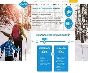 limiitti.fi tililtä pikavippi ilmaiseksi 500 euroon saakka