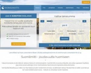 Suomilimiitti suomen suurin ilmainen laina 2000e asti ja se on todellakin osoittautunut, että parempia koroton pikavippi -tarjouksia on vaikea puskea markkinoille, sillä sellaisia ei ole vuosien saatossa ilmestynyt vielä yhtäkään