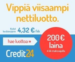 credit24 on niitä varten jotka haluavat säästää ja saada samalla lainaa heti tililleen