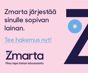 Tee hakemus Zmarta -palveluun heti tästä