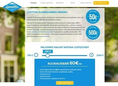 Limiitti takaa edullisen lainan suomalaiseen arkeen