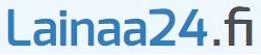 Täytät Lainaa24.fi:n lainahakemuksen parissa minuutissa.